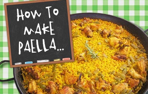 Clase de Paella hostal Valencia