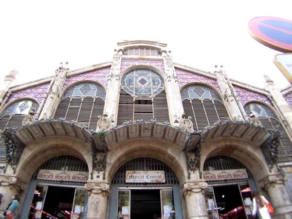 Mercado central Valencia Hostal barato Valencia