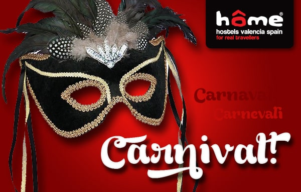carnival at Home Hostels Valencia Spain