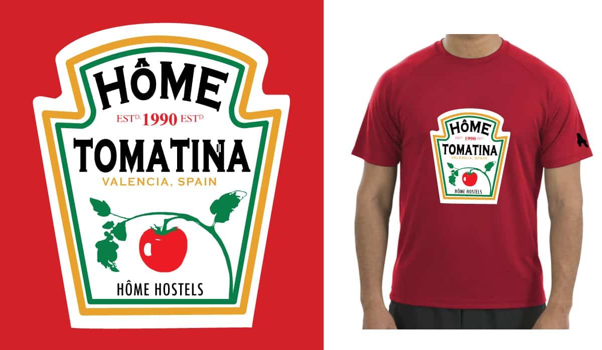 Camiseta Tomatina