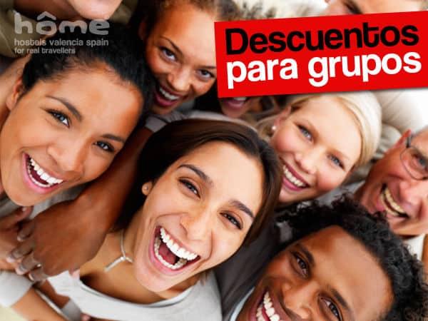 Hostal para grupos en Valencia